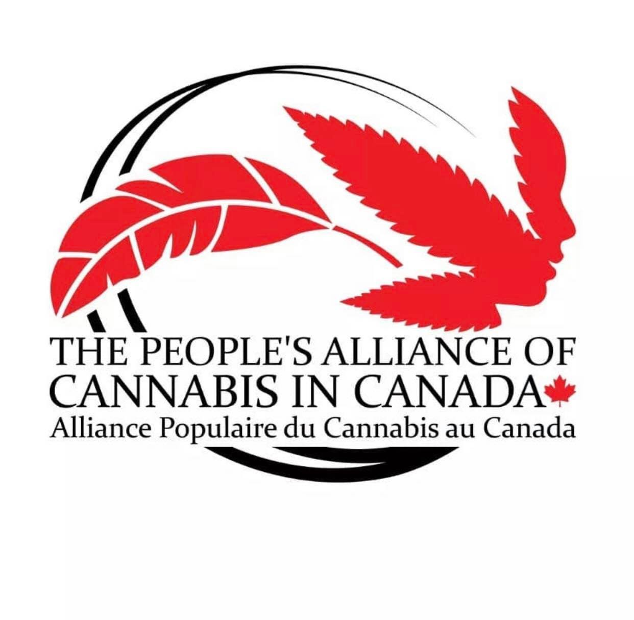 peoples alliance of cannabis in canada logo