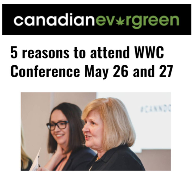 Canadian Evergreen WWC 2021 5 Reasons to Attend